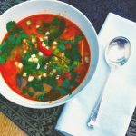 Thai Hot and Sour Soup with #fitfoodbmf