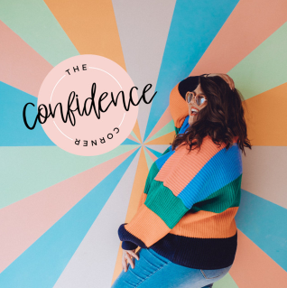 the confidence corner podcast cover