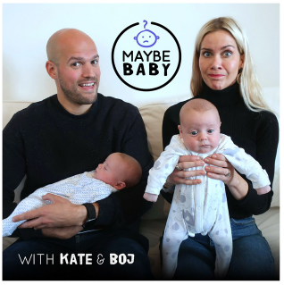 maybe baby podcast cover