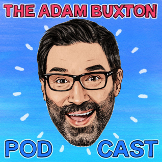 the adam buxton podcast cover